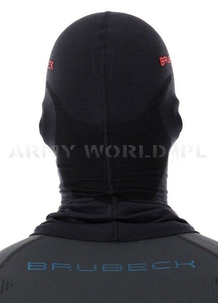 Thermoactive Balaclava Wool Black BRUBECK