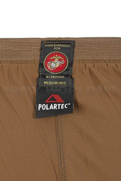 Thermoactive Drawers US Army USMC LEVEL 1 POLARTEC Coyote Original New