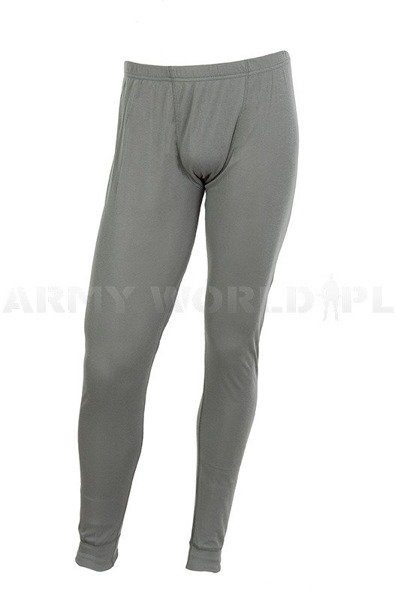 Thermoactive Dutch Military Drawers Silver Ions Grey Original New
