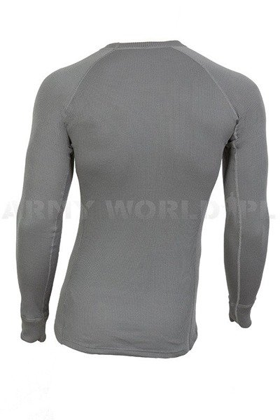 Thermoactive Dutch Military Undershirt Thermowave Grey Original Used