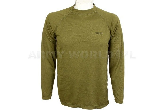 Thermoactive Shirt Coolmax Web-tex Olive Used