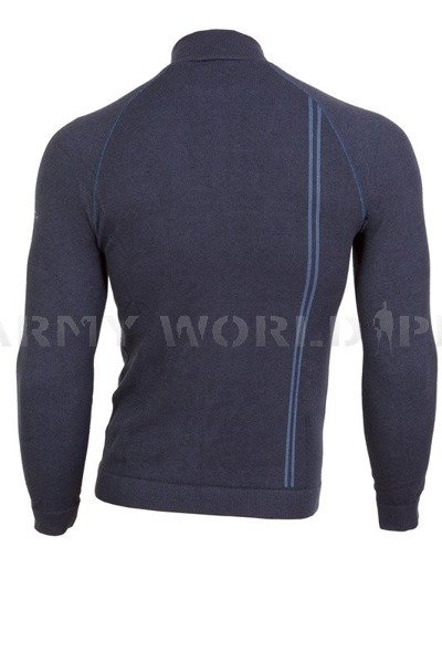 Thermoactive Sweater Prestige BRUBECK Men's Navy Blue New SALE