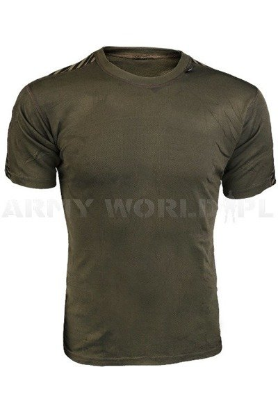 Thermoactive T-shirt Coolmax HELLY HANSEN Oliv Demobil