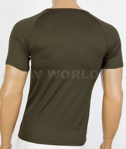 Thermoactive T-shirt Coolmax Mountain Oliv Used Second Quality