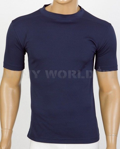 Thermoactive T-shirt Coolmax Navy Blue Used