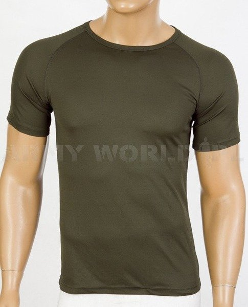 Thermoactive T-shirt Coolmax Oliv Used