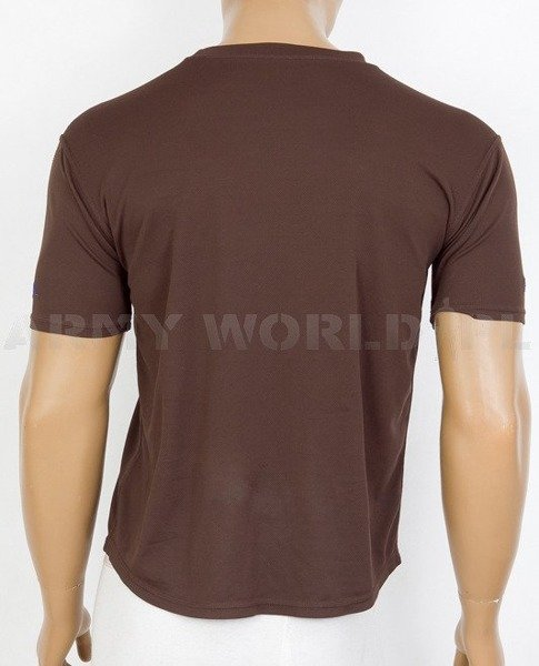 Thermoactive T-shirt Coolmax  With Badge 10 Armd Cov Brown Used