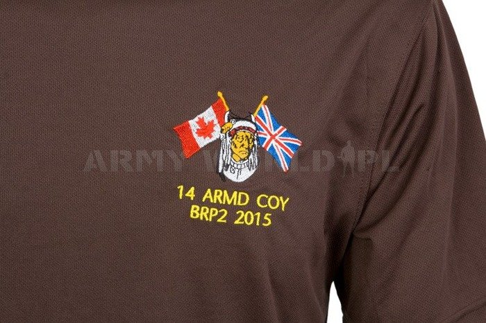 Thermoactive T-shirt Coolmax With Badge 14 ARMD COY Brown Used