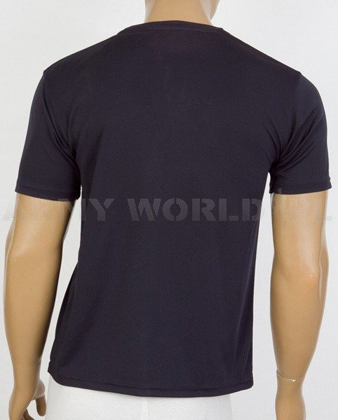 Thermoactive T-shirt Coolmax With Badge 48 FD SQN Navy Blue Used