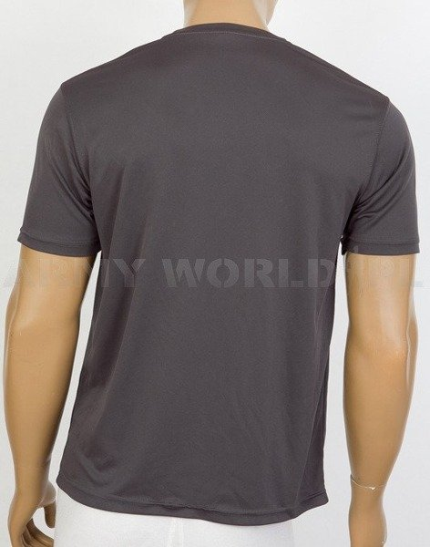 Thermoactive T-shirt Coolmax  With Badge 5 Force Support Batalion Grey Used