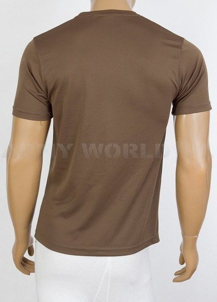 Thermoactive T-shirt Coolmax  With Badge 62 Works Group RE Brown Used