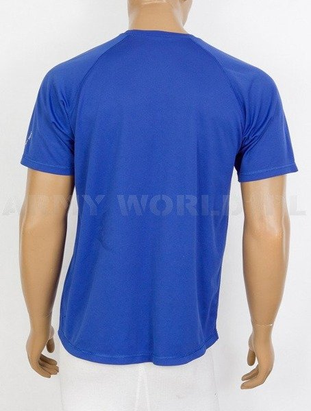 Thermoactive T-shirt Coolmax  With Badge Blue Used