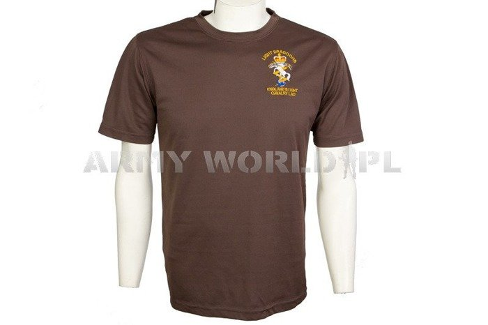 Thermoactive T-shirt Coolmax With Badge Light Dragoons Brown Used