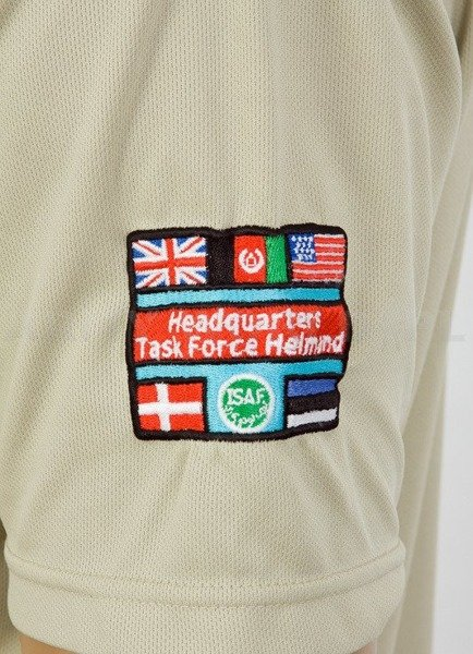Thermoactive T-shirt Coolmax With Badge OP HERRICK 18 Khaki Used