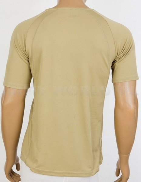 Thermoactive T-shirt Coolmax With Badge Permanent Staff  Brown Used