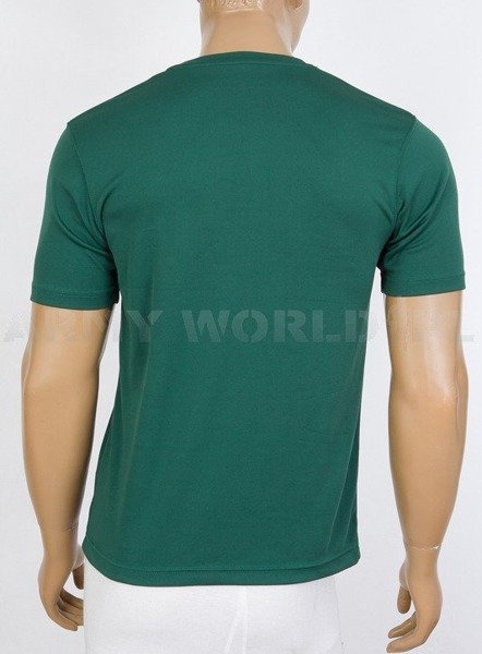 Thermoactive T-shirt Coolmax  With Sign 4 Military Intelligence Battalion GreenUsed