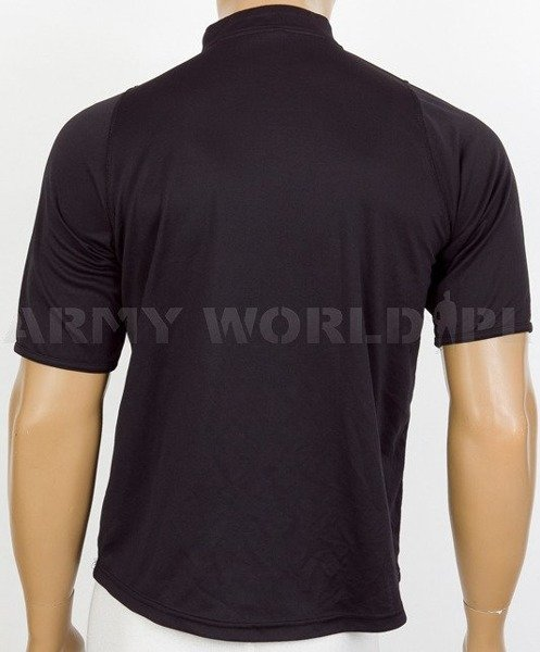 Thermoactive T-shirt With Zip Coolmax Black Used