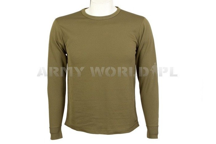 Thermoactive Undershirt Coolmax  Olive Original Used