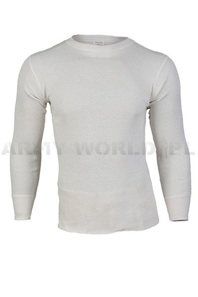 Thermoactive Undershirt US Army Extreme Cold  Weather White Original New
