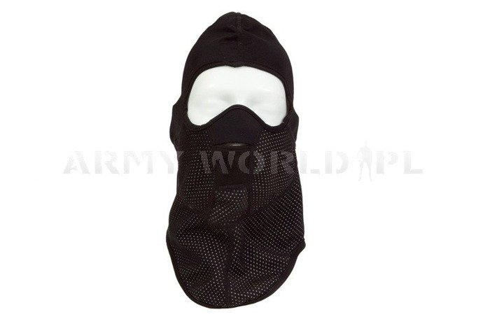 Thermoactive Warmed Balaclava Dutch Army Black New