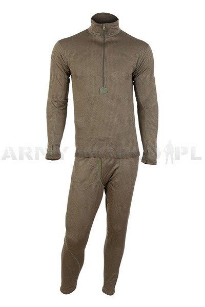Thermoactive underwear Level 2 III Gen. Mil-tec Oliv - Set - Shirt + Drawers