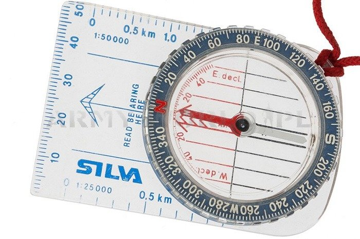 Tourist compass SILVA Field Original Demobil