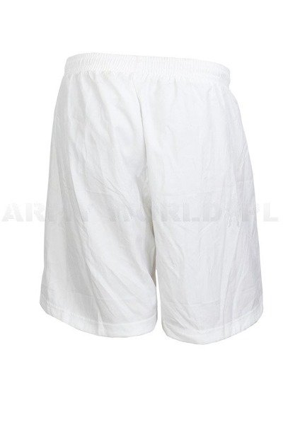 Training Sport Men's Shorts Erima Oryginal White Used