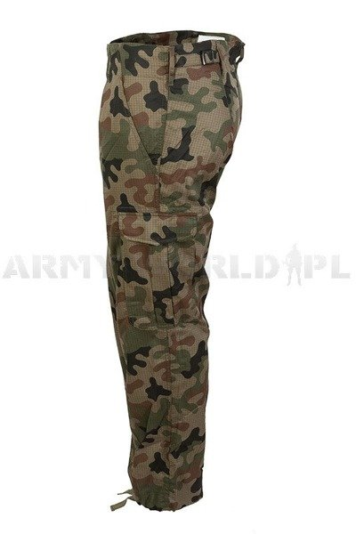 Tropical Polish Military Trousers Wz.93 124 Z/MON Pants - Original - New