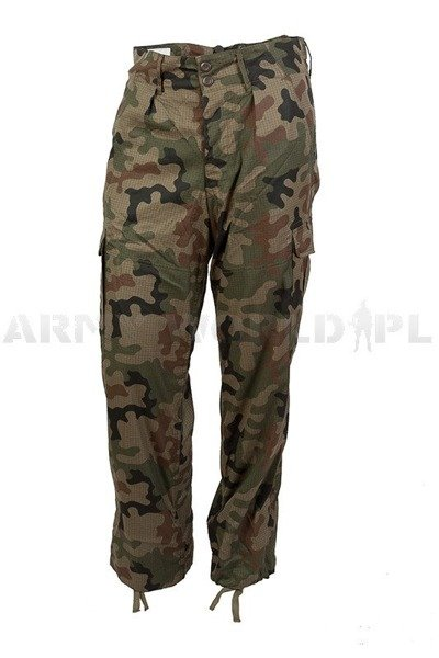 Tropical polish military uniform Wz.93 124 Z/MON Set Shirt + Pants - Original - New