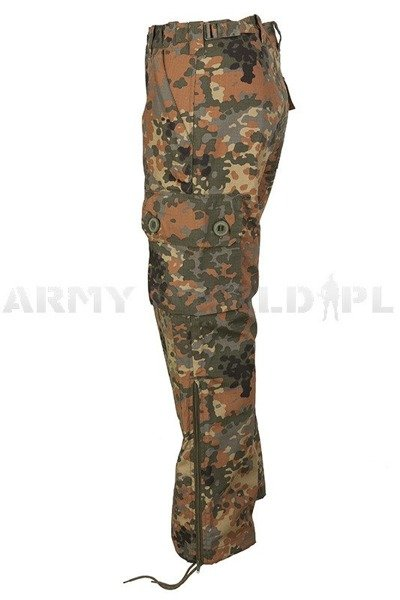 Trousers KSK Light Bundeswehr Special Forces Flecktarn Summer Version Mil-Tec New
