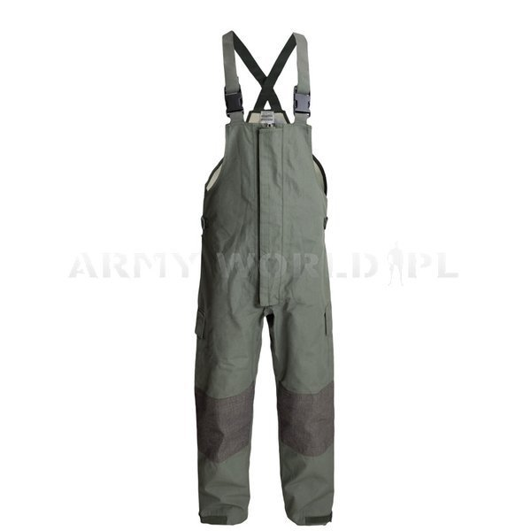 Trousers Nomex / Gore-tex Flame-retendant Waterproof Dutch Oliv Original New