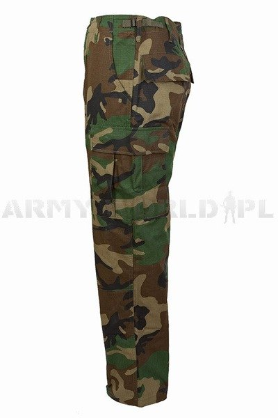 TrousersTessar Ripstop Model BDU Woodland Cargo Pants New