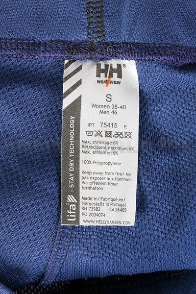 Unisex Pants HELLY HANSEN Navy Blue Used