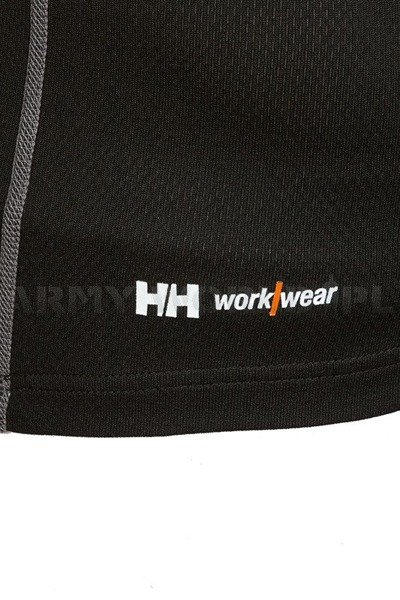 Unisex T-shirt Dry HELLY HANSEN Black New