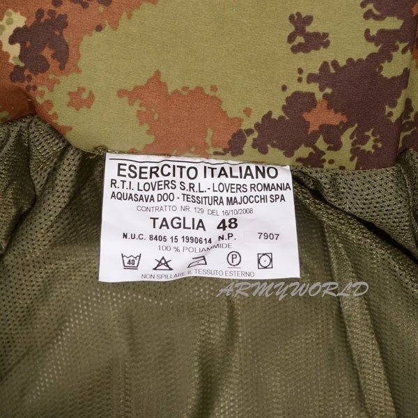 WATERPROOF SET Italian Gore-tex (Jacket+ Trousers) Original New