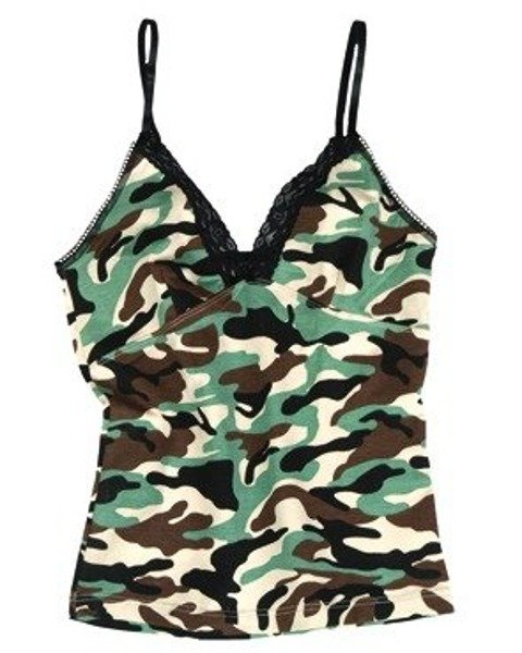 WOMEN'S TOP Woodland Mil-tec New