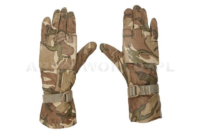 Warm Weather MTP Gloves British Army Original Used