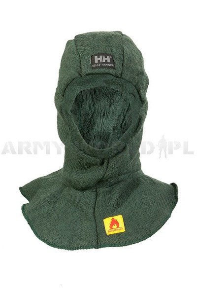 Warmed Flame-retendant Balaclava HELLY HANSEN Original Oliv Drab Used
