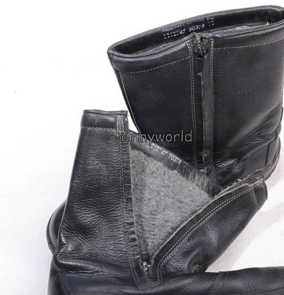 Warmed Jackboots With Zipper Baltes Orignal Demobil II Quality
