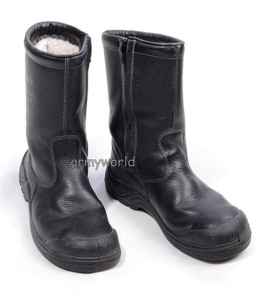 Warmed Jackboots With Zipper FOREVER Original New