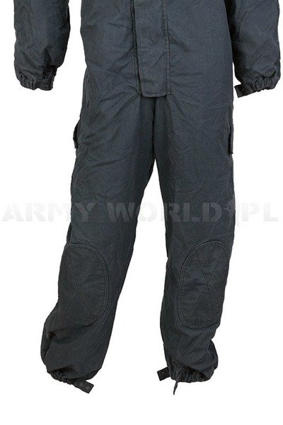 Waterproof Coverall GORE-TEX Flame Resistant Navy Blue Used