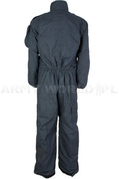Waterproof Coverall Gore-tex Flame Resistant Scotgreat With Zippers Navy Blue Used