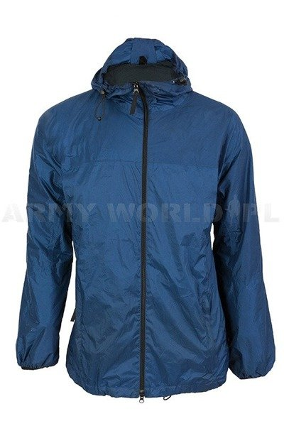 Waterproof Jacket British Army Utility MK1 Navy Blue Used
