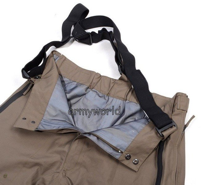 Waterproof Protective Pants 72/BOR Original Oliv UNIQUE