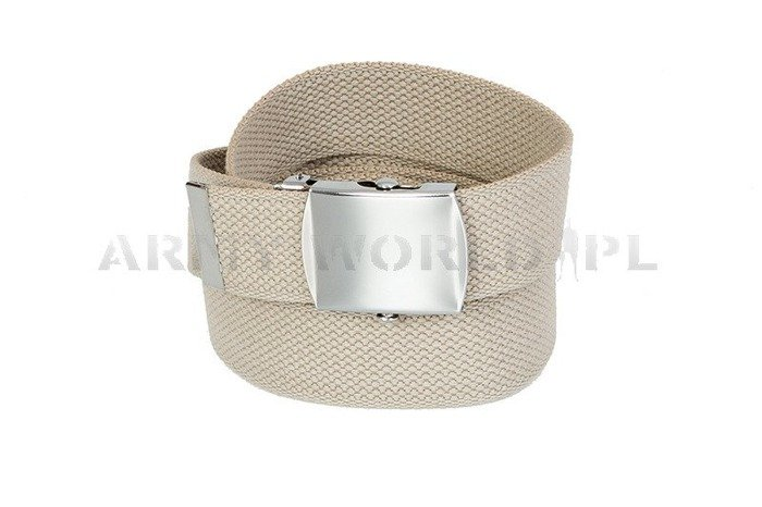 Webbing Belt Creamy/ khaki model US