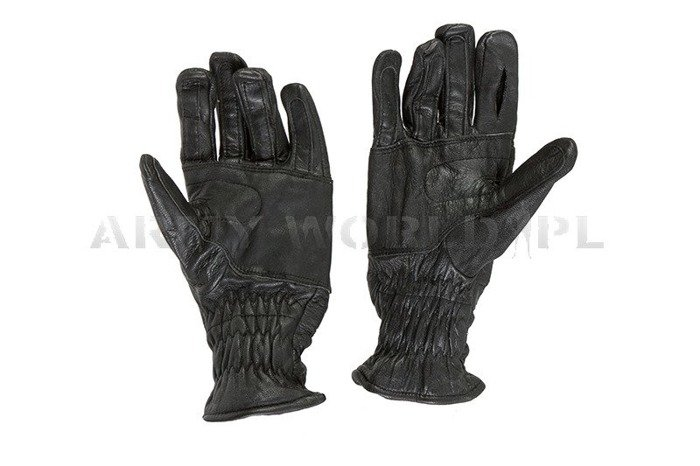 Winter Leather Gloves Dutch Army Used