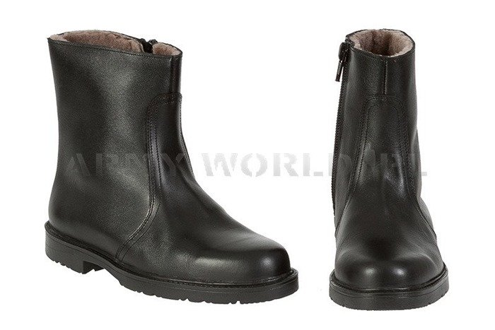 Winter Police Leather Shoes Baltes Davos Test Version New