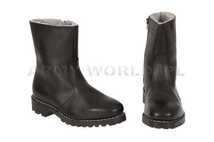 Winter Police Leather Shoes Baltes Fussen Test Version Art. Nr 99500 New