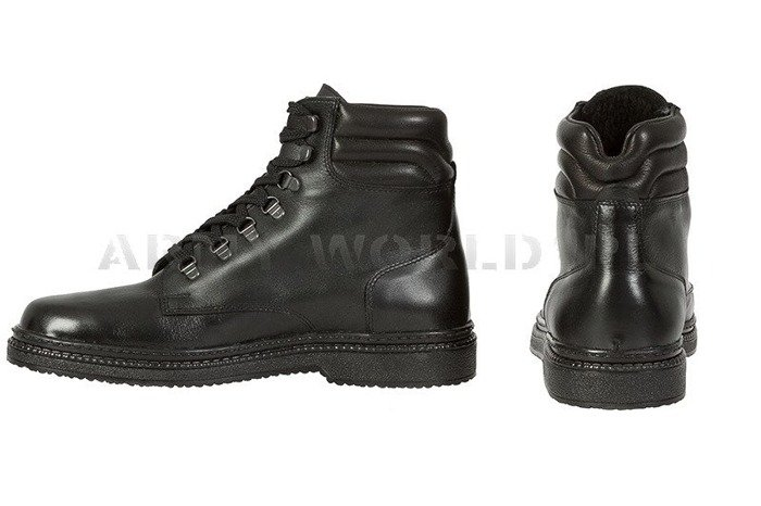 Winter Police Leather Shoes Baltes Test Version Art. Nr 37100 New
