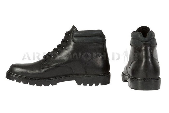 Winter Police Leather Shoes Baltes Test Version New